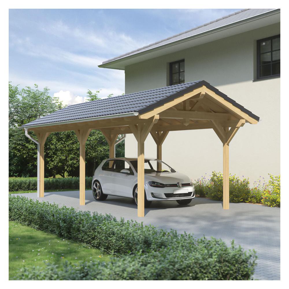 carport mit satteldach perfect carport mit satteldach with carport mit satteldach excellent. Black Bedroom Furniture Sets. Home Design Ideas