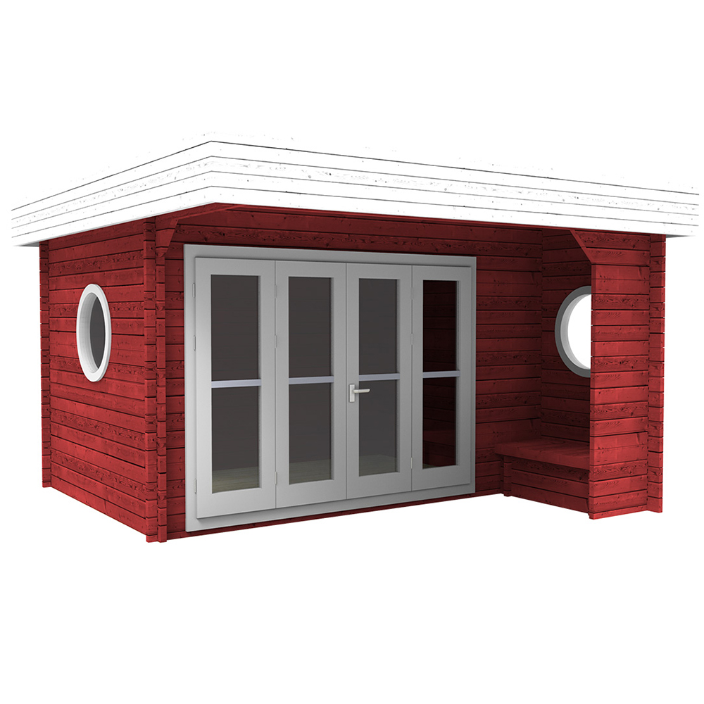 gartenhaus ger tehaus regensburg 4 2x4 2 m holz steda ebay. Black Bedroom Furniture Sets. Home Design Ideas